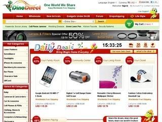DinoDirect отзывы, купоны, похожие сайты