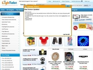 LighTake отзывы, купоны, похожие сайты