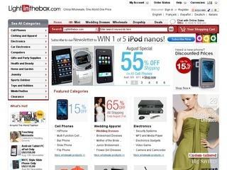 LightInTheBox отзывы, купоны, похожие сайты