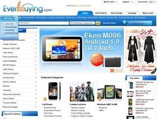 EverBuying отзывы, купоны, похожие сайты