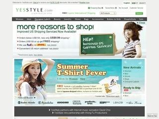 YesStyle отзывы, купоны, похожие сайты